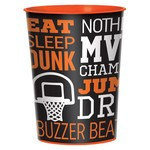Cup - Plastic - Basketball - 1pc