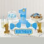Table Decorating Kit - 1st Birthday - Blue
