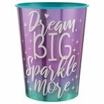 Plastic Cup - Sparkle - 1 pc