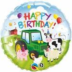 """Foil Balloon - Farm Animals - 18"""""""