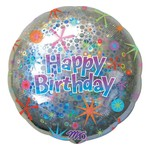 Foil Balloon - HBD Holographic
