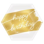 Plates Bev Golden Age - HBDAY - 16pk