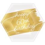 Plates Bev Golden Age - 60th BDAY