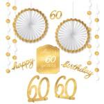 Room Decor kit - 60th Golden Age Bday