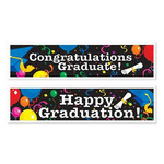 Banner - Graduation - 2 pk