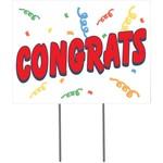 Lawn Sign - Congrats