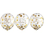 Balloons Latex Golden Age - 30th BDAY