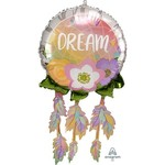 "Foil Balloon - Dream Catcher - Super Shape - 29"""