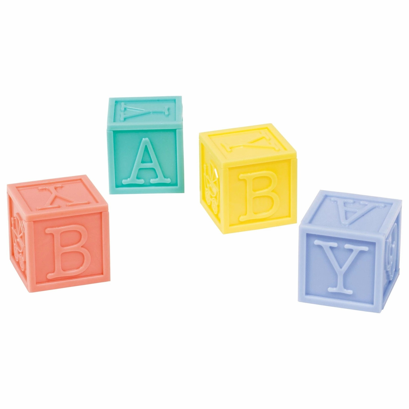 Baby Shower - Baby Blocks - 4 pcs