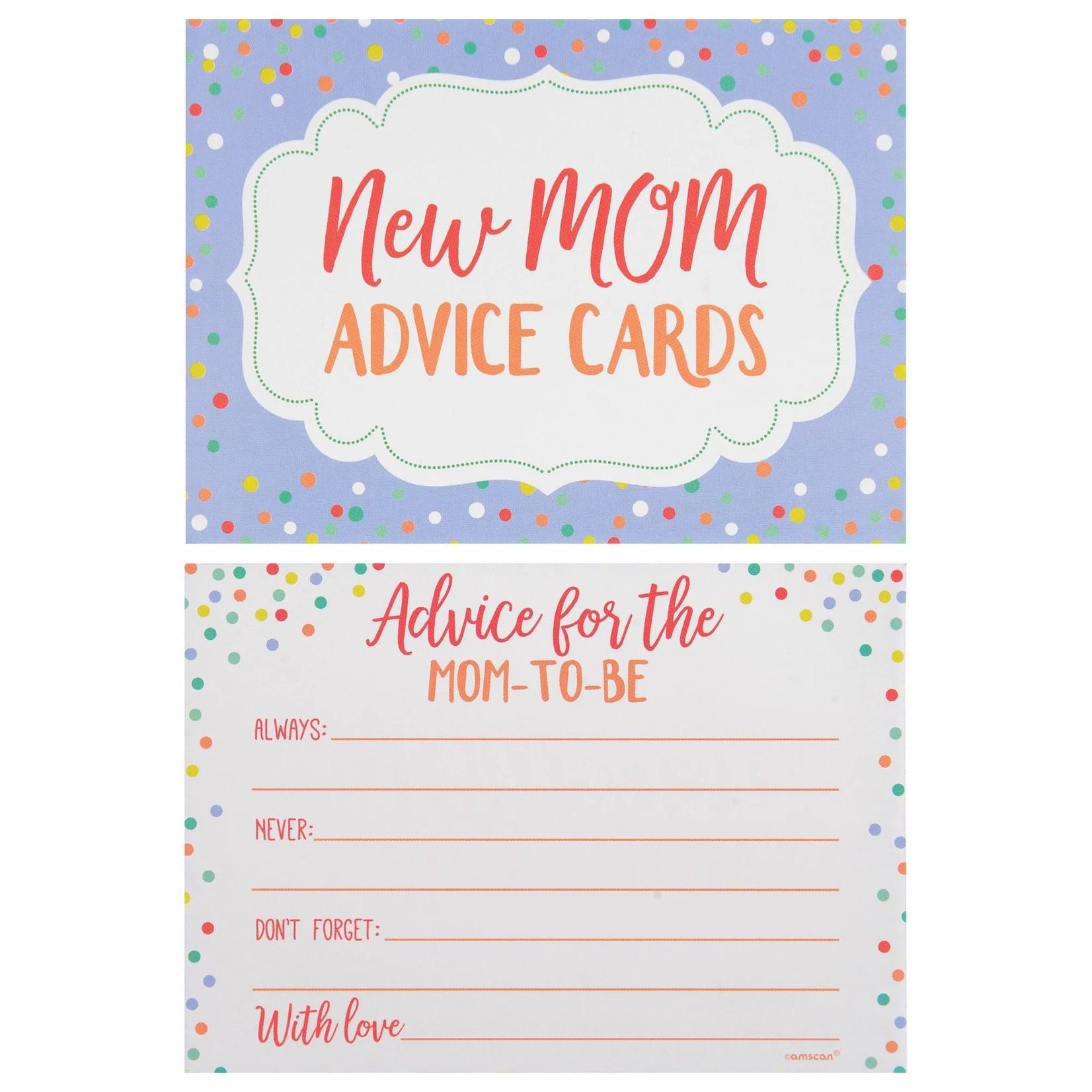 Advice Cards - Mom To Be - 24 pcs