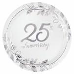 Plates - Bev - 25th Anniversary - 8 pk