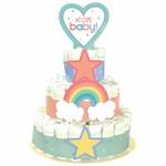 Diaper Cake Kit - Baby Shower