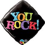 "Foil Balloon - You Rock - 18"""