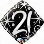 """Foil Balloon - 21st Birthday - 18"""""""