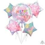 Foil Balloons HB - Bouquet 5 PK