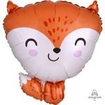 Foil Balloon - Fox