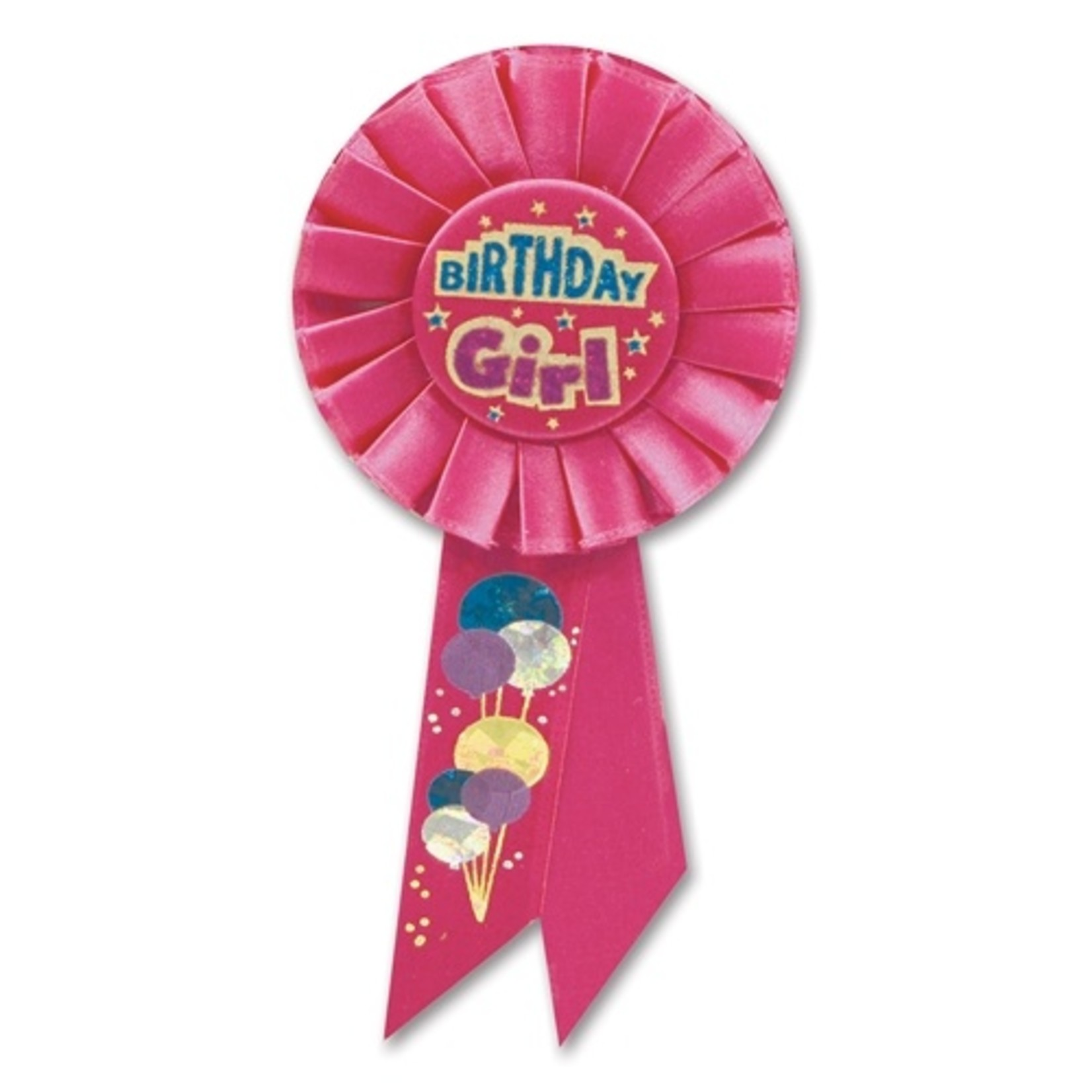 Award Ribbon - Birthday Girl