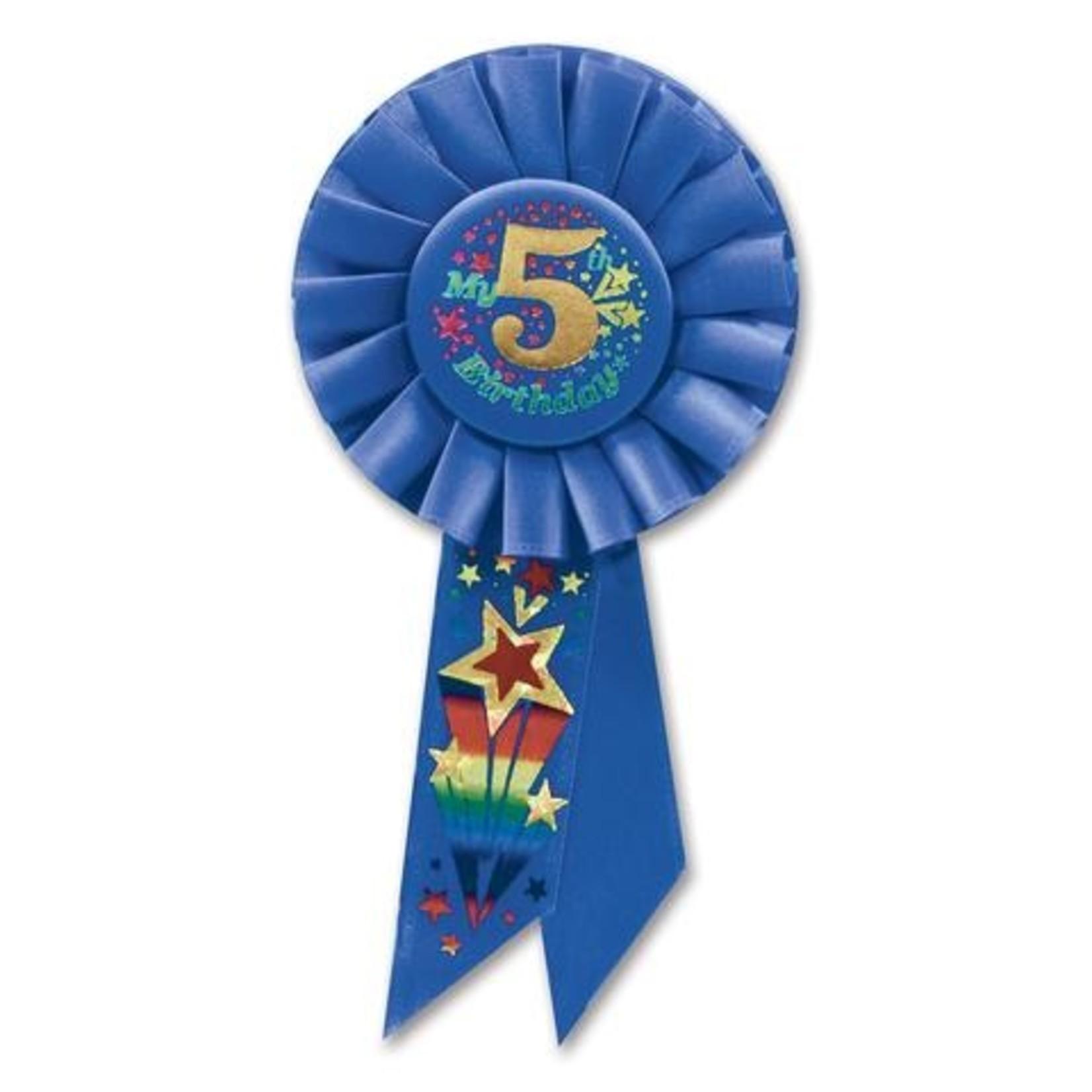 Award Ribbon - 5th Birthday