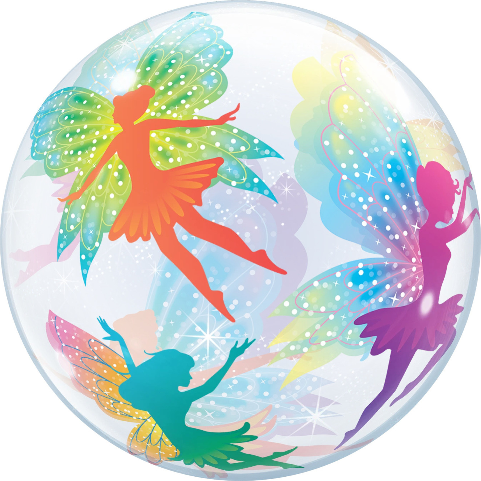 "Balloon - Bubble - Butterfly Fairy - 22"""