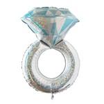 Foil-Large Dimand Ring