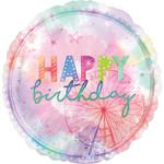 Foil balloon -  GirlChella  HBD - Jumbo