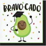 Napkins - BN - Graduation Fun - Bravo-Cado - 16pkg  - 2ply
