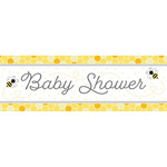 Banner - Bumble Bee Baby / 20In x 60In / 1 Count