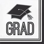 Napkins - Bev - Grad - School Spirit - 36 - 2 ply