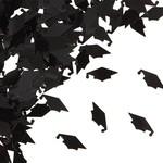 Confetti - Grad - Mortarboard - Black