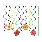 Danglers - Tropical Flowers - 8 pcs