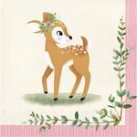 Napkins - Deer little One - 16 Pk - 2 Ply