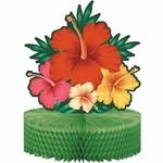 """Centerpiece - Tropical Flower - 9"""" X  12"""""""