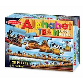 Floor Puzzle - Alphabet Train