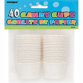 Candy/Condiment Cups- White- 40pk