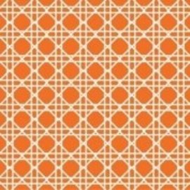 Napkins-BEV-Cane Sunkissed Orange-24pkg-3ply/Discountined/Final Sale