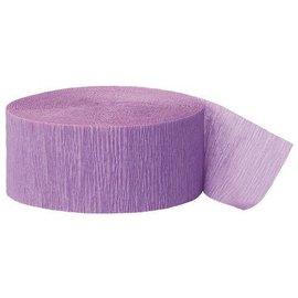 Paper Crepe Streamer- Lavender