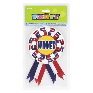 Award Ribbons- Winner- 3pk/7""