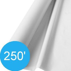 Tablecover Roll-Frosty White-250Ft-Plastic