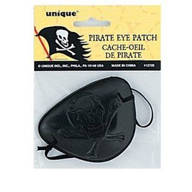 Costume Accessory-Pirate Eye Patch-1pkg