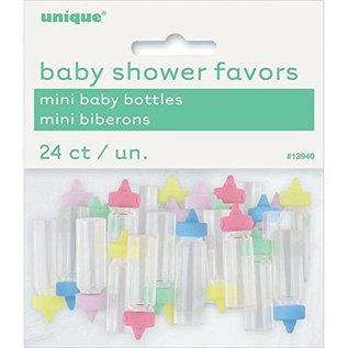 Baby Bottles-Tiny-Baby Shower-Multi Color-24pk