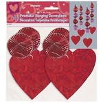 Danglers-Prismatic-Valentine-Red Hearts-4pk