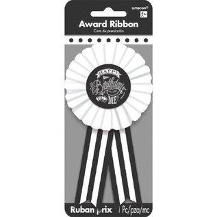 Award Ribbon Chalk Board