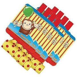 Blowouts-Curious George-8pk