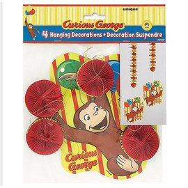 Danglers-Curious George-4pk