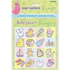 """Bingo Game-Baby Shower-1pkg-9.5""""x6.75"""""""