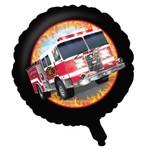 """Foil Balloon - Fire Truck - 18"""""""