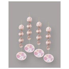 Danglers-Baby Stitching Pink-18''-4pk