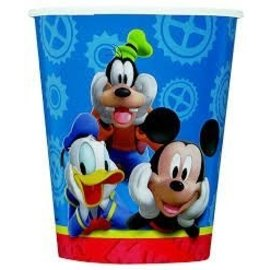 Cups-Mickey Mouse Clubhouse-Paper-9oz-8pk