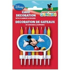 Candles-Mickey Mouse-8pk