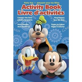 Activity Book-Mickey Mouse Clubhouse-4pk